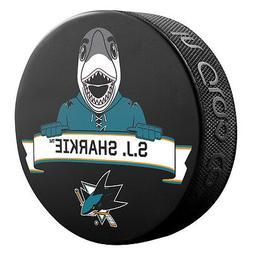 2016 NHL San Jose Sharks Mascot S.J. Sharkie Souvenir Hockey