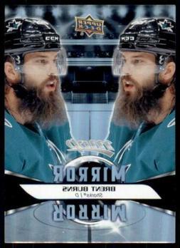 2020-21 UD MVP Mirror Mirror #MM-3 Brent Burns - San Jose Sh