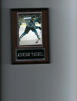 JEREMY ROENICK PLAQUE SAN JOSE SHARKS HOCKEY NHL