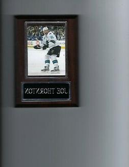 JOE THORNTON PLAQUE SAN JOSE SHARKS HOCKEY NHL