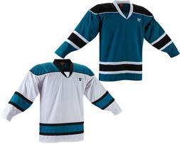 Warrior KH130 Hockey Jersey - San Jose Sharks - Sr