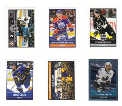 2016 17 panini hockey stickers base cards