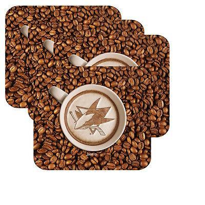 new san jose sharks latteam coffee art