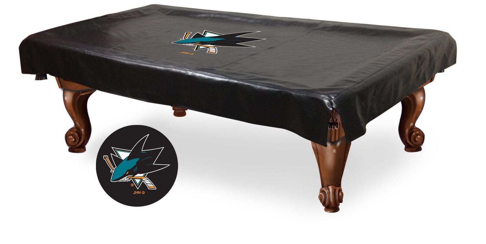 nhl san jose sharks billiard table cover