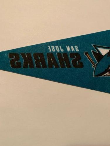 "NHL San Mini Pennant 4""x9"" NEW Hockey Decor"