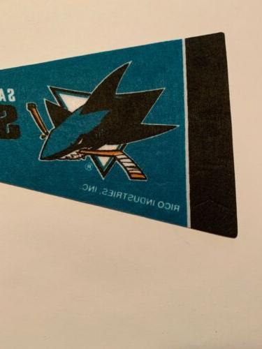 NHL San Jose Mini Flag