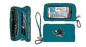 san jose sharks deluxe touch smartphone wallet
