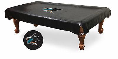 san jose sharks hbs black vinyl billiard
