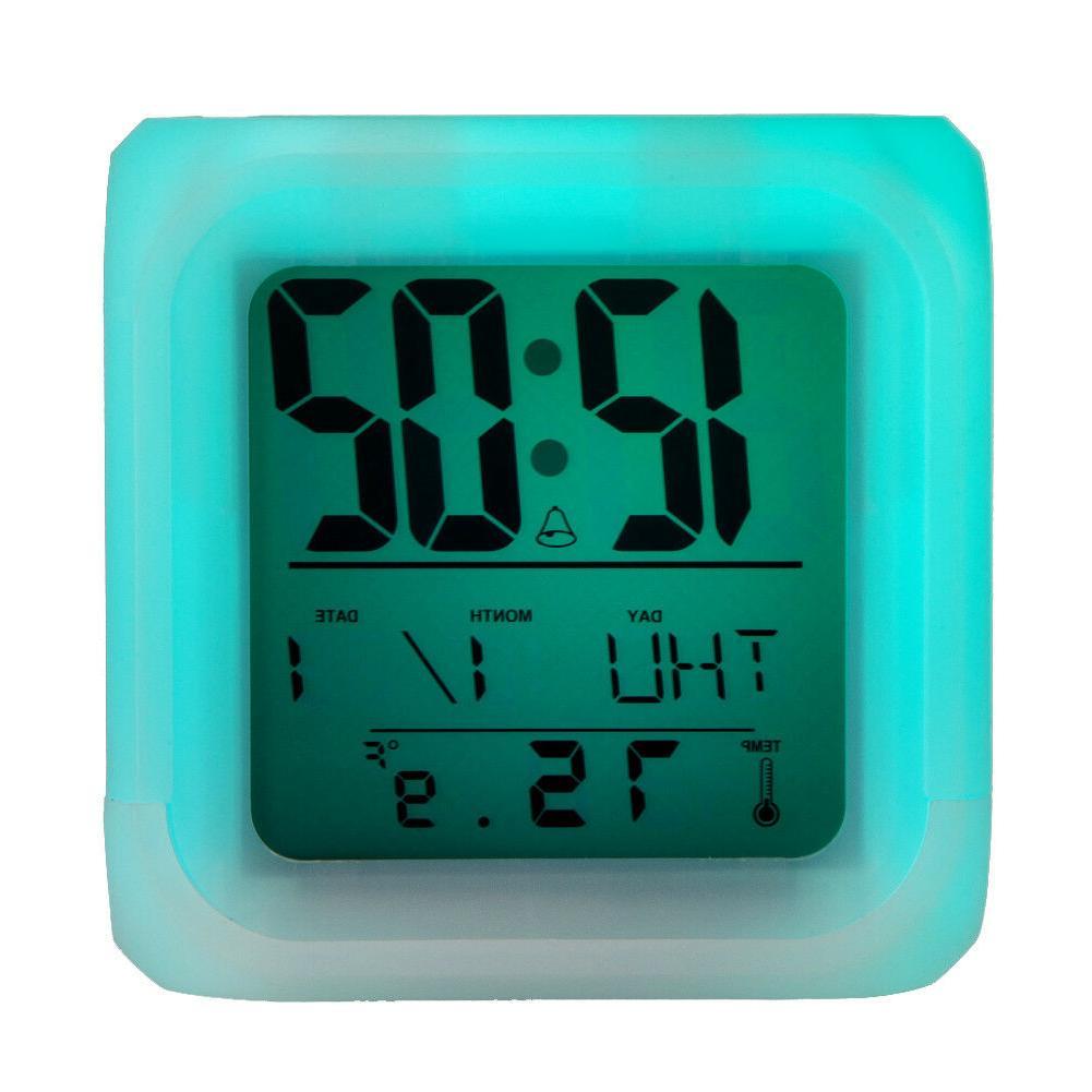San Jose LED Clock Multi Changing