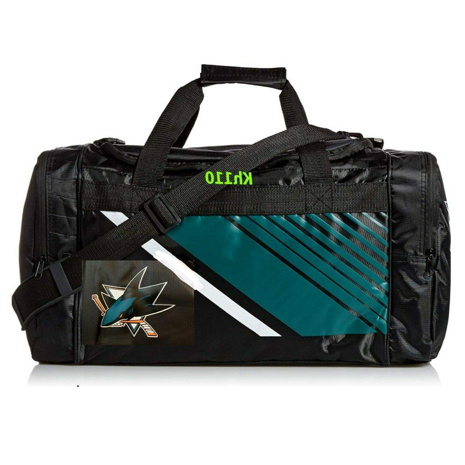 san jose sharks nhl gym travel luggage