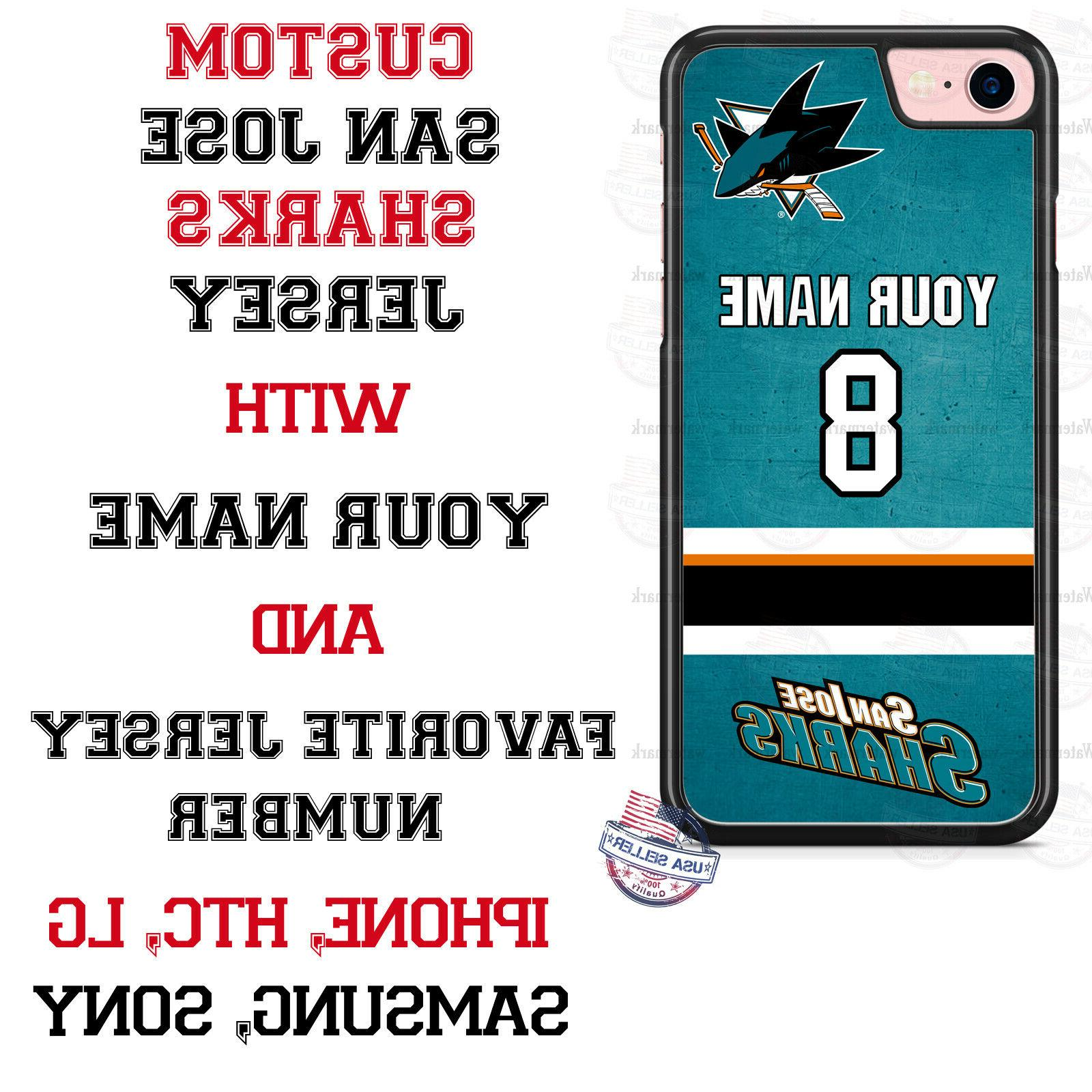 SAN JOSE SHARKS PHONE CASE COVER FOR iPHONE GOOGLE 4