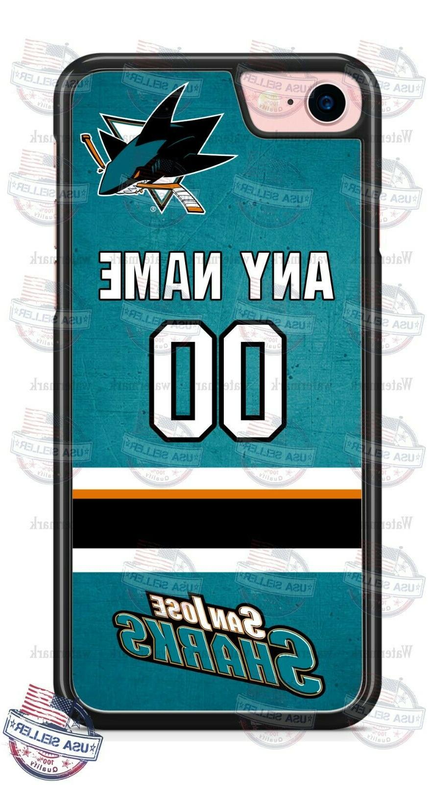 san jose sharks personalized phone case cover