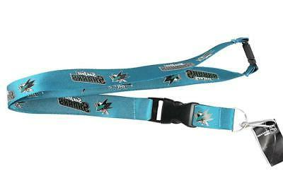 san jose sharks premium lanyard new key