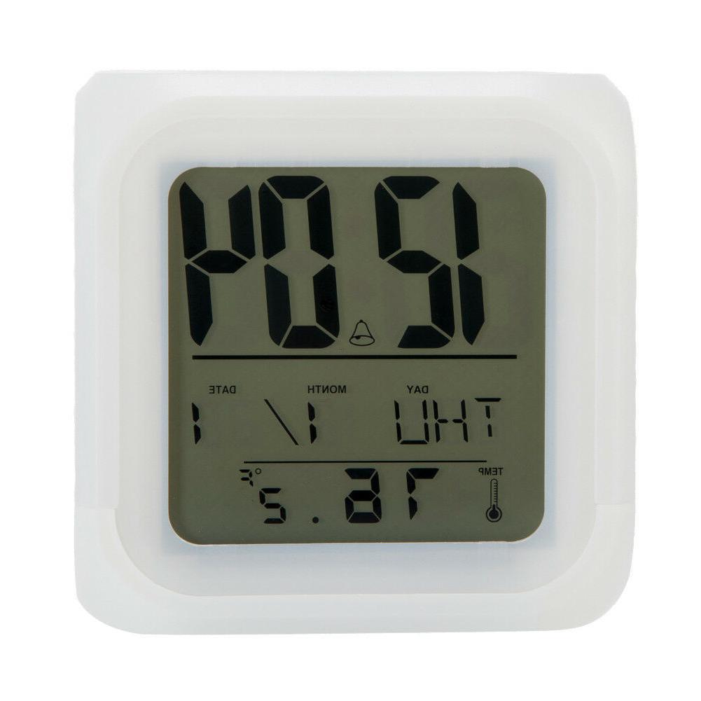 San Digital LED Multi Color Changing Alarm