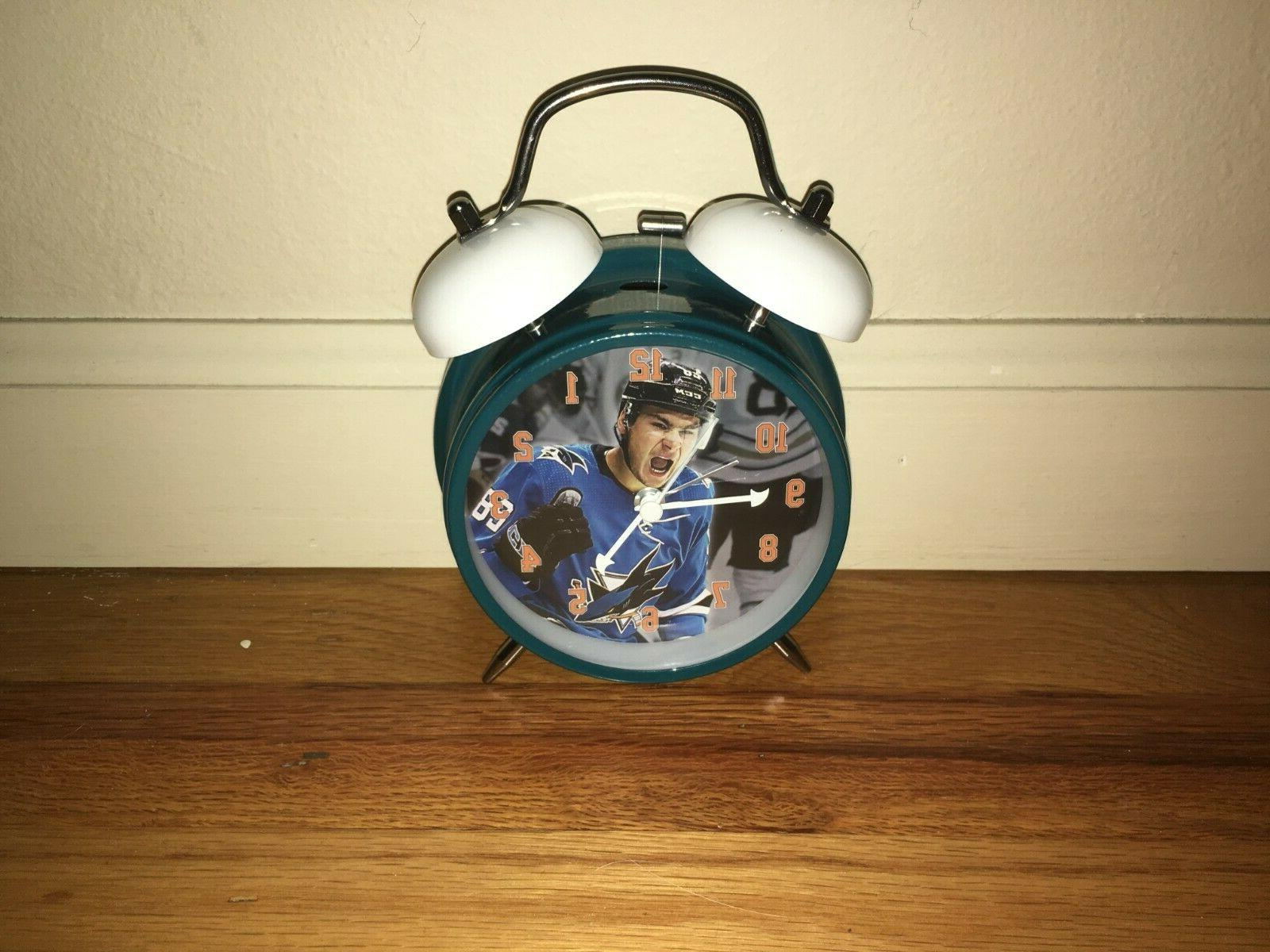 San Jose Timo Meier Time Alarm Clock Super Rare