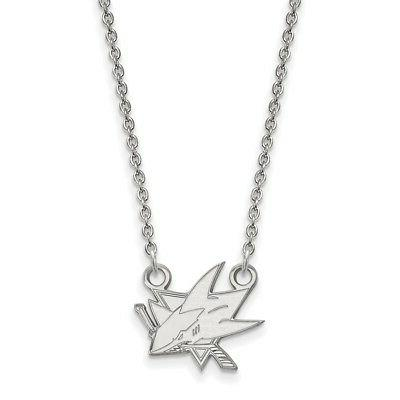 sterling silver nhl san jose sharks small