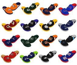 Men's Team Jersey Indoor/Outdoor Slippers ~ Pick Your Favori