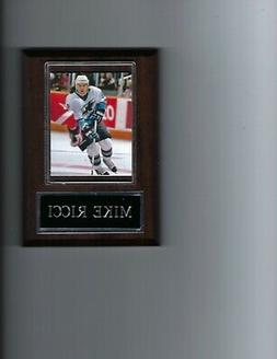 MIKE RICCI PLAQUE SAN JOSE SHARKS HOCKEY NHL