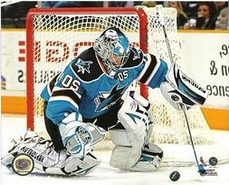 NABBY 8x10 Evgeni Nabokov NHL Action Photo SAN JOSE SHARKS #