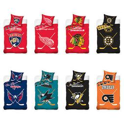 NHL National Hockey League Fan Bed Cover Bed Linen Ice Hocke