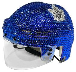 NEW NHL Hockey Mini Helmet Made with Swarovski® Crystals +