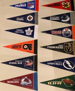 new nhl hockey teams mini pennants 4