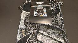 New Northwest NHL San Jose Sharks Large Tapestry Throw Blank