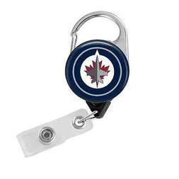 nhl hockey pick your team carabiner retractable