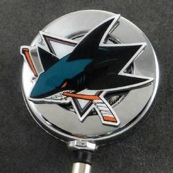 NHL Hockey San Jose Sharks Sports Retractable Security ID Ca