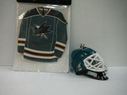 NHL Licensed Lil Sports Brat Hockey Collectible - SAN JOSE S