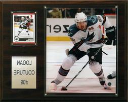 NHL Logan Couture San Jose Sharks Player Plaque