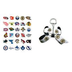 NHL Mini Bow Keychains - Choose Your Team