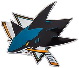 ProMark NHL San Jose Sharks Color Auto Emblem, One Size, One