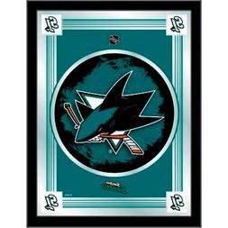 """NHL - San Jose Sharks 17"""" x 22"""" Logo Mirror Hockey Team Logo"""
