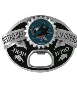 NHL San Jose Sharks Bottle Opener Belt Buckle