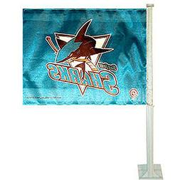 NHL San Jose Sharks Car Flag