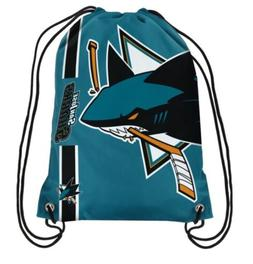 NHL  San Jose Sharks Drawstring Backpack