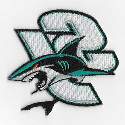 NHL San Jose Sharks Iron on Patches Embroidered Patch Appliq