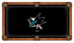 NHL - San Jose Sharks Pool Table Cloth Hockey Team Logo