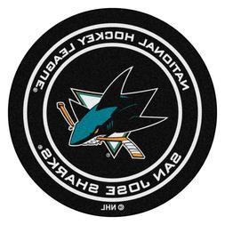 NHL San Jose Sharks Round 26 - Hockey Puck Mat