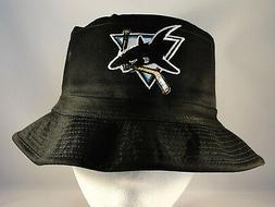 NHL San Jose Sharks Vintage Bucket Hat Black