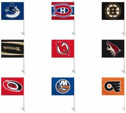 NHL Team Logo Car Window Flag RICO Industries or Fremont Die