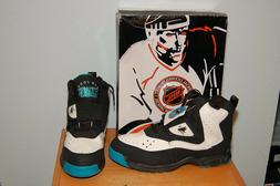 NOS Vintage 1994 NHL San Jose Sharks Licensed Shoes, Size 10