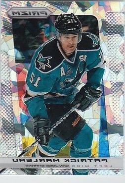 Patrick Marleau 2013-14 Panini Prizm CRACKED ICE Card 17/30