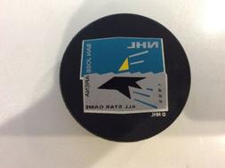 San Jose SHARKS 1995 All- Star Game Hockey Puck With Case