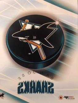 SAN JOSE SHARKS 2000 NHL TEAM LOGO 8X10 PHOTO