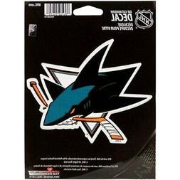 "San Jose Sharks 5"" Flat Vinyl Die Cut Decal Window Bumper St"