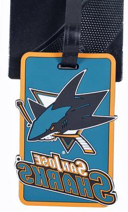 San Jose Sharks Bag Tag Luggage Tag