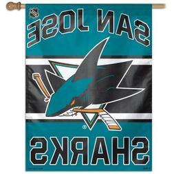 San Jose Sharks Banner Flag 27 x 37