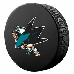 San Jose Sharks Basic Logo Souvenir Hockey Puck By Sher-Wood